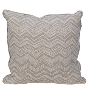 Plain Pillow - Grade A Fabric, 20 x 20