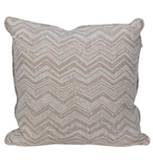 Plain Pillow - Grade A Fabric, 22 x 22