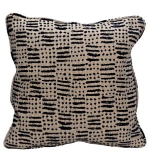 Plain Pillow - Grade B Fabric, 22 x 22