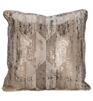 Plain Pillow - Grade C Fabric, 22 x 22