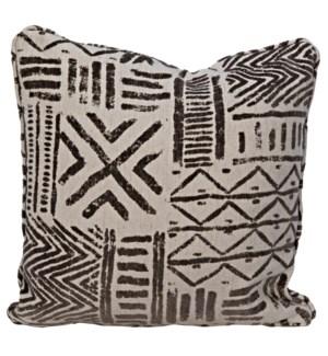 Plain Pillow - Grade E Fabric, 22 x 22