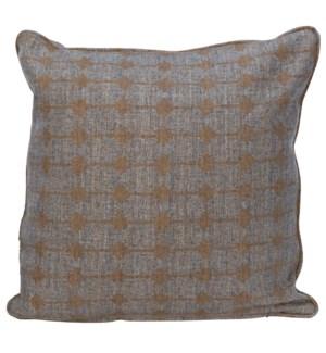 Plain Pillow - Grade H Fabric, 22 x 22