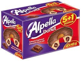 Apella Donut Cake 24x6/45 gr