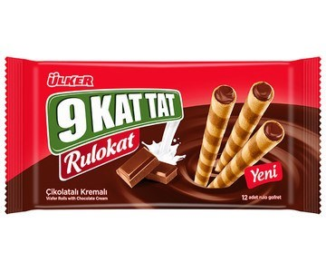 Ulker 9 Kat Tat Rulokat Choc Wafer 16/96 gr