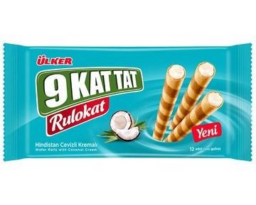 Ulker 9 Kat Tat Rulokat Coconut 12/48 gr