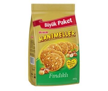 Ulker Hanimeller Hazel Biscuit 15/180 gr