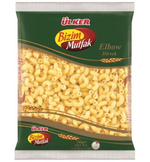 Ulker Bizim Elbow Pasta 20/500 gr