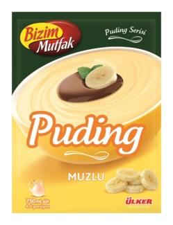 Ulker Banana Pudding 125 gr (12ea/2bx/1ct)