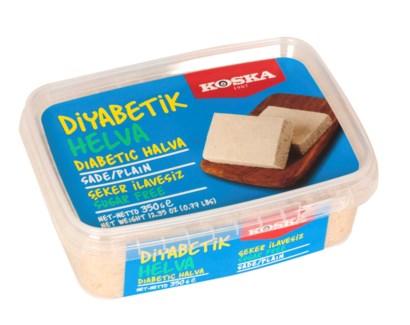 Koska Diabetic Plain Halva 12/350 gr