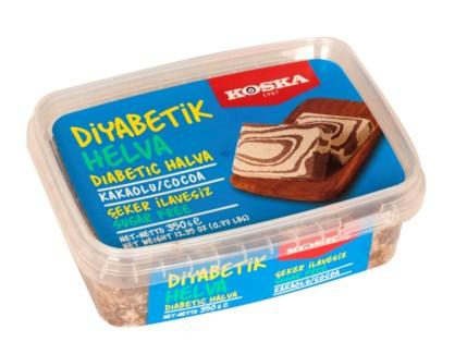 Koska Diabetic Cocoa Halva 12/350 gr