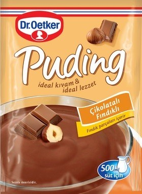 Dr Oetker Hazel Pudding (Ciko Findik) 24/102 gr