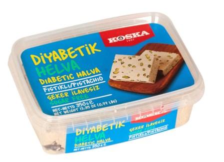 Koska Diabetic Halva w/Pistachio 12/350 gr