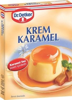 Dr. Oetker Krem Karamel 12/105 gr
