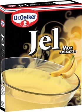Dr. Oetker Banana Jello (Muzlu) 24/100 gr