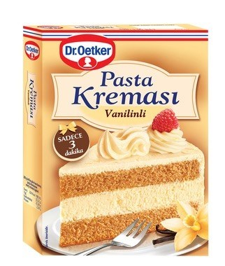 Dr. Oetker Vanilyali Pasta Kremasi 12/136 gr