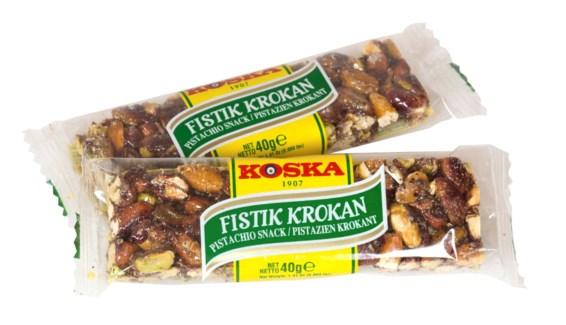 Koska Pistachio Snack (Krokan) 12/40 gr