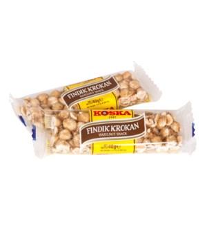 Koska Hazelnut Snack (Krokan) 12/40 gr