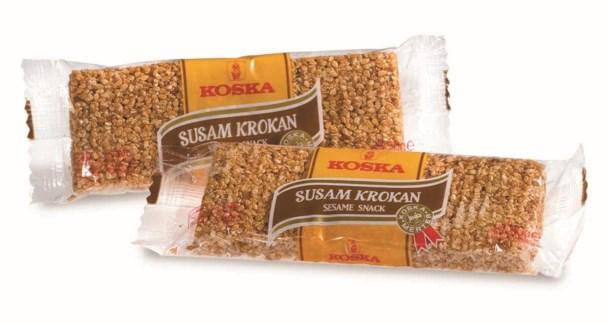 Koska Sesame Snack (Krokan) 12/40 gr