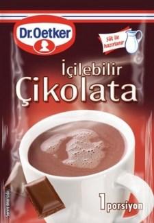 Dr. Oetker Hot Chocolate (Cik. Icilebilir) 48/28 gr