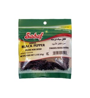 Pepper Black Whole 12/1.5 oz