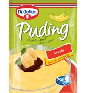 Dr. Oetker Banana Pudding (Muzlu) 24/125 gr