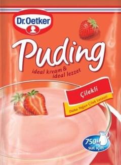 Dr. Oetker Strawberry Pudding (Cilek) 24/125 gr