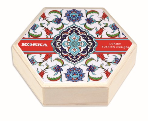 Koska Tiled Box T. Delight w/pist 12/250gr
