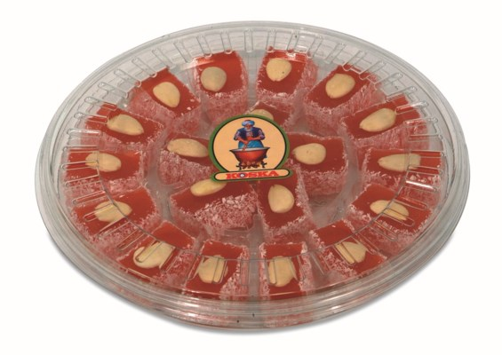 Koska Palace Turkish Delight w/Alm 12/500 gr