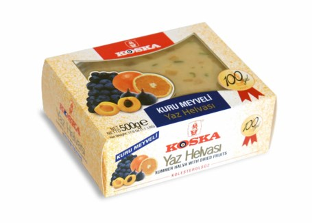 Koska Halva With Dried Fruits12/200 gr