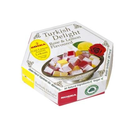 Koska Turkish Delight Rose-Lemon-Mint 12/250 gr