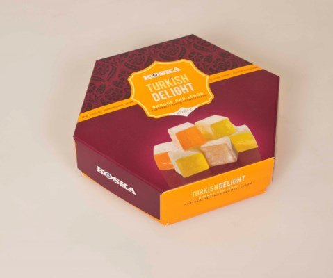 Koska Turkish Delight w/Orange & Lemon 12/250 gr