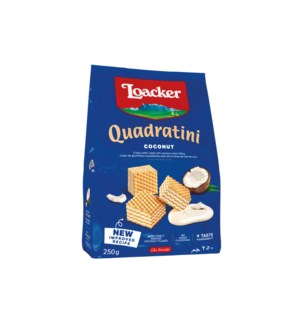 Loacker Quadratini Coconut 6/250 gr (14307-001)
