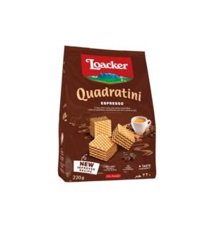 Loacker Quadrantini Espresso 6/250 gr (14308-001)
