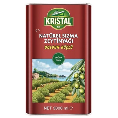 Kristal Extra Virgin Olive Oil 4/3 lt