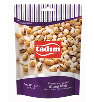 Tadim Cocktail Mixed Nuts 12/190 gr
