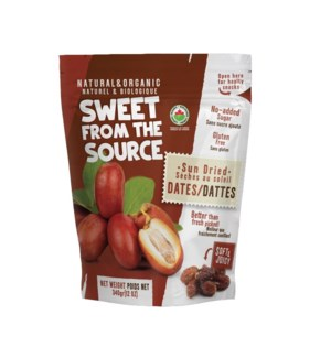 SFTS Organic Dried Dates Soft 10/250 gr