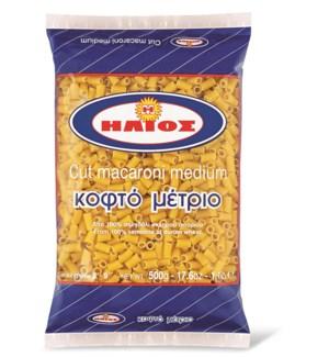 Helios Cut  Macaroni Medium 12/500 gr