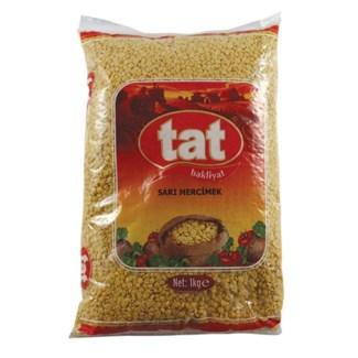 Tat Yellow Lentils 12/1 kg