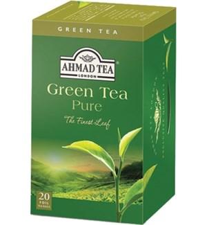 Ahmad Tea Green Pure 6/20 pcs