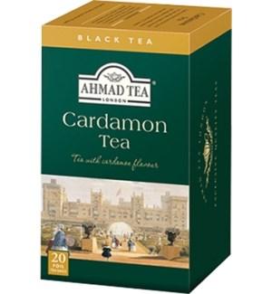 Ahmad Tea Cardamom 6/20 pcs