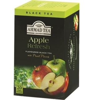 Ahmad Tea Fruit Apple Refresh 6/20 pcs