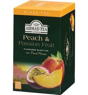 Ahmad Tea Fruit Peach Passion Fruit 6/20 pcs