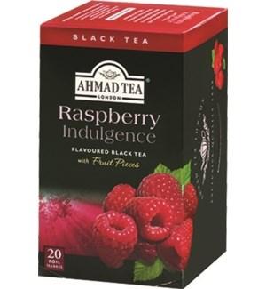 Ahmad Tea Fruit Raspberry Indulge 6/20 pcs