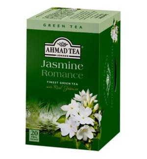 Ahmad Tea Green Jasmine Romance 6/20 pcs