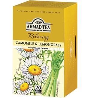 Ahmad Tea Herbal Chamomile/Lemon 6/20 pcs