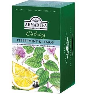 Ahmad Tea Herbal Peppermint/lemon 6/20 pcs