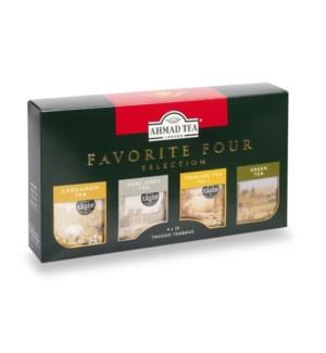 Ahmad Tea Favorite Four Selection 12/4x25 pcs