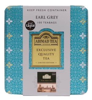 Ahmad Tea Earl Grey 12/100 Tag/Tin