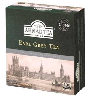 Ahmad Tea Earl grey 24/100 Tag