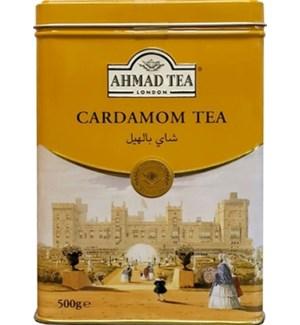 Ahmad Tea Cardamom (Tin) 12/500 gr